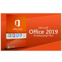Microsoft Office 2019 Pro Plus Key Card MS Digital 1 Key For 1 PC Lifetime Manufactures