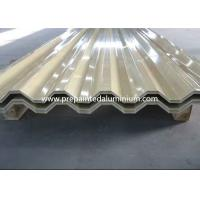 Quality 2500 mm Width Aluminium Colour Coated Sheet , High Strength Colored Aluminum Sheets for sale