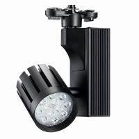 Matt White / Black 24W LED Track Lights Ra80 75lm/W With 60°Beam Angle Manufactures