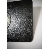 Buy cheap Luxurious SS Metal Member Cards Laser Engrave Etch Logo Leather Pattern from wholesalers