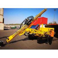 Buy cheap JC358A Down Hole Rock Drilling Rig Crawler Hydraulic Drill Rig For Power Station from wholesalers
