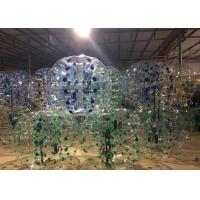 China Blue Yellow Green Inflatable Bubble Soccer Balls Air - Tight For Sport Game on sale