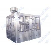 Electric Bottled Water Filling Machine / Plant 500ml - 2500ml 3KW ABB motor Manufactures