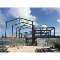 H beam Q235B Steel Building Steel Frame Fabrication For Gymnasium Manufactures