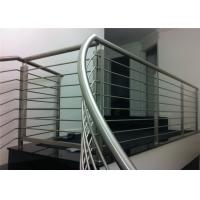 Solid Rod Bar Stainless Steel Railing Hollow Tube Avilable Simple Installation Manufactures