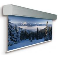 Customized Full HD Electric Projection Screens Metal Housing For Large Cinema