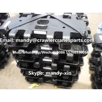 SANY SCC1000C Track Shoe Pad for Crawler Crane Undercarriage Spare Parts Manufactures