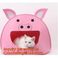 soft felt pet house, Pet Beds & Accessories, Felt pet house, Felt cats pet bed, felt pet house for dog or cats Manufactures
