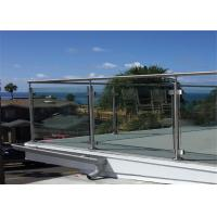 Post Glass Railing Building Railing Outdoor Glass Balustrade Systems Manufactures