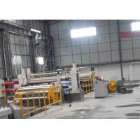 China Carbon Steel / Stainless Steel Sheet Slitting Machine High Automation Level on sale