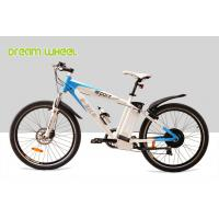EU 6 Speed Electric Mountain Bikes 250W 36V 55Km - 65Km Drive Distance Manufactures