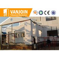 Ecological Modern Prefab Modular Homes By High Strength EPS Cement Wall Panel Manufactures