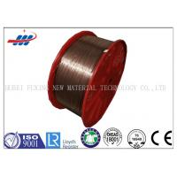Quality High Tensile Strength Copper Clad Steel Wire For Tyre , Copper Coated Wire for sale