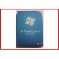 32 bit / 64 bit Windows 7 Pro Retail Box Windows 7 Professional DVD with COA sticker Manufactures