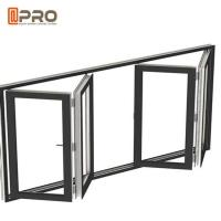 Soundproof Aluminum Bifold Windows With Retractable Or Invisible Fly Screen Manufactures