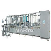 50-500MLNon PVC IV Bag Filling Machine 2-6 Heads Easy Clean For Pharmaceutical Manufactures
