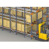 New design automatic warehouse popular radio shuttle racking systems Manufactures