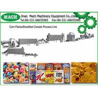 Fully Automatic Breakfast Cereal Corn Flakes Machine Production Line Manufactures