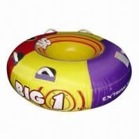 Inflatable Towable Tube, Made of Non-naphthalene PVC, Meets EN71/ASTM, Passed ICTI/GSV, Top Quality Manufactures