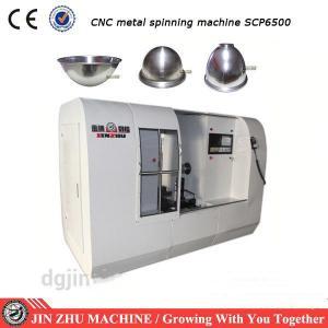 China High Precision CNC Polishing Machine Aluminum Pots Spinning Machine on sale