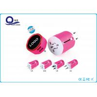 All In One Adapter 5V 2A USB Power Adapter With LED Light Logo Quick Charge Manufactures