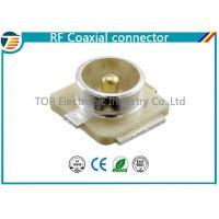 U.FL Connector Plug RF Coaxial Connector 50 Ohm Surface Mount Manufactures