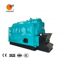 Coal Biomass Fuel Horizontal Steam Boiler Blue With Automatic Slag Machine Manufactures