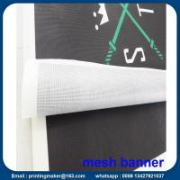 Buy cheap Custom Size 350G PVC Vinyl Mesh Banners from wholesalers
