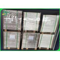 100% White Coated Recycled Board CCNB Board 1 - 3mm Thick Sheet Manufactures