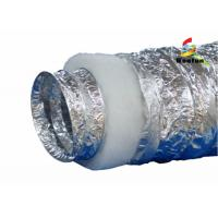 Quality HVAC System Customized Size 2 Layers Insulated Flexible Ducting Flexible Insulated for sale