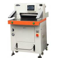 Easy Operation Semi Auto Hydraulic Guillotine Paper Cutter 520mm A3 Size Manufactures