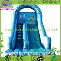 High quality small indoor inflatable slide pool children inflatable pool with slide Manufactures