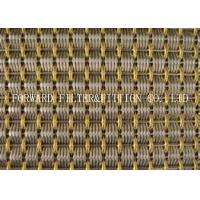 China Decoration Stainless Steel Wire Mesh Woven Knit Mesh Galvanized Colour Weave Screen on sale