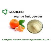 China Freeze Dried Fruit Powder / Orange Fruit Powder Fit Beverage And Food on sale