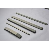 Tungsten Carbide Wear Parts / flats with cutting tools , Tungsten Carbide Blanks  Manufactures