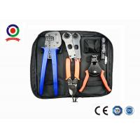 Black Bag MC4 Crimping Tool Kit Solar Photoroltaic Connector For Solar System Manufactures