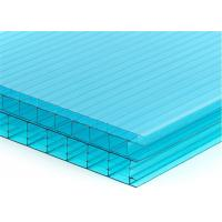 China 8mm High Impact Twin - wall Polycarbonate Sheet  Sun Board Sheet Cover on sale