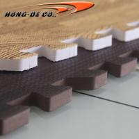 Non-toxic Soft Wood Tiles - EVA foam softer , safety passing EN71,REACH, Formamide Manufactures