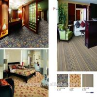 Fireproof printed nylon material home carpet from China Manufactures