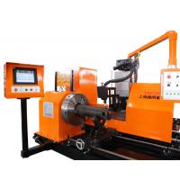 CNC pipe plasma profile cutter machine with USA hypertherm powermax105 Manufactures