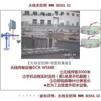 Wireless Security Television Monitoring System