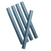 M8 Zinc Plated Blue DIN 975 Stainless Threaded Rod Anti Corrosion Full / Part Thread Manufactures