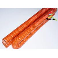 Quality HVAC Insulated high pressure high temperature silicone air duct for sale