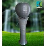 Porcelain ball fountain,ceramic indoor fountain Manufactures