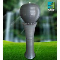 Quality Porcelain ball fountain,ceramic indoor fountain for sale