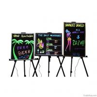 China Standing style aluminum frame advertising colorful led writing board on sale