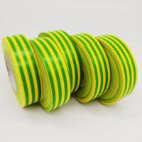 Green Waterproof Coloured Electrical Tape / 3m Electrical Insulation Tape Manufactures