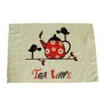 100% cotton printed tea towel kitchen towel AZO free Manufactures