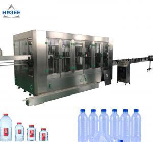 24V DC Drinking Water Bottle Filling Machine / Mineral Water Bottling Machine