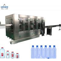 Quality 24V DC Drinking Water Bottle Filling Machine / Mineral Water Bottling Machine for sale